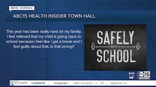 FAQs: Experts answer your questions about mental health, going back to school
