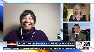 Adapting lesson plans during a pandemic