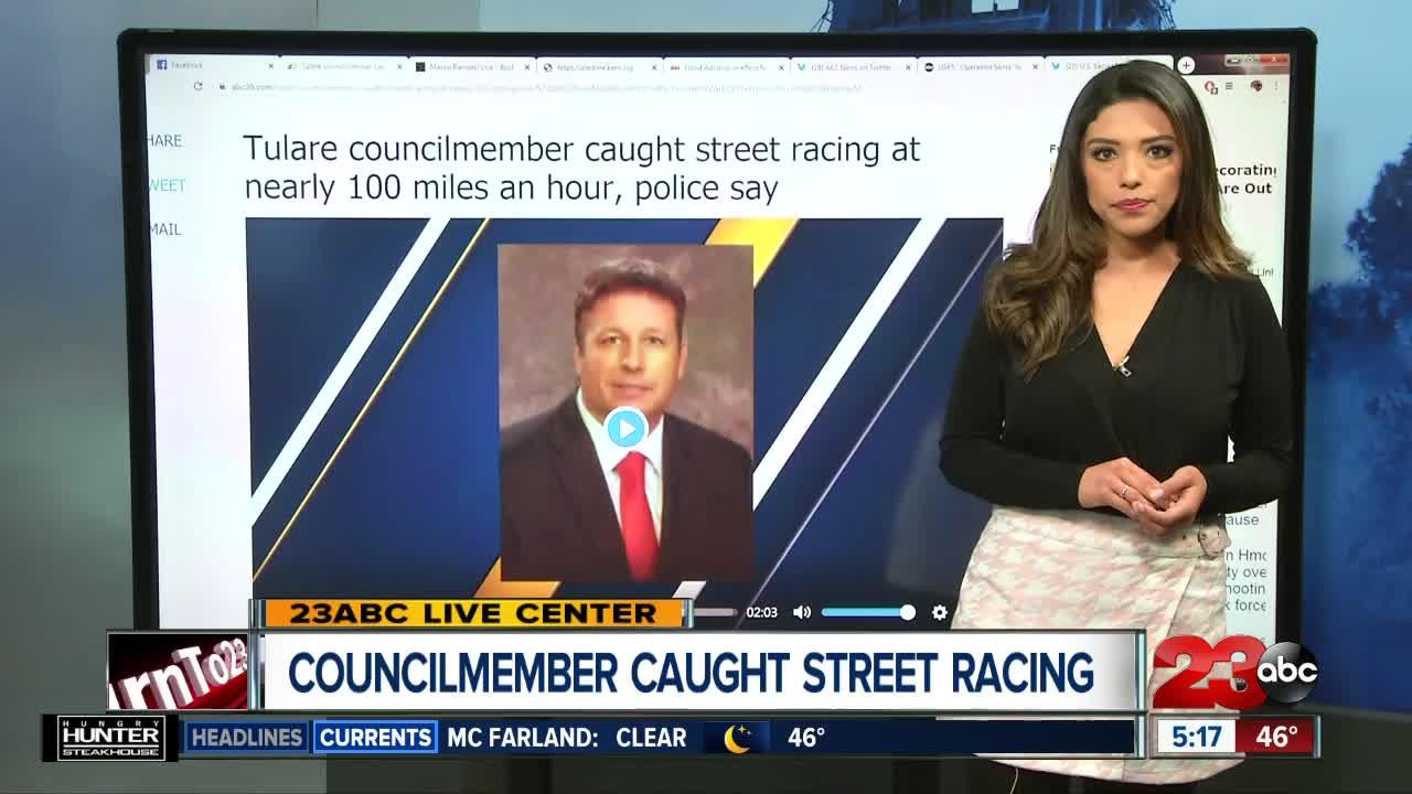 Councilmember Caught Street Racing