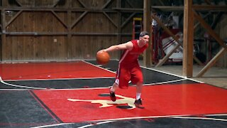 Basketball Move: Create Space With A Side-Step Jump-Shot