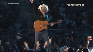 Garth Brooks Las Vegas concert officials expect 'full house' for July 2021 event