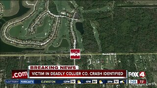 Victim in fatal Collier County crash identified