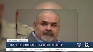 Jury selection begins in trial for accused cop killer