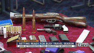Getting ready for busy travel season
