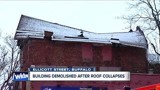 Building demolished in downtown Buffalo