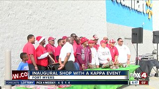First ever 'Shop with a Kappa' event held in Fort Myers