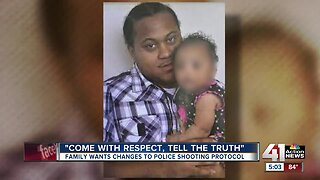 Family wants changes to police shooting protocol
