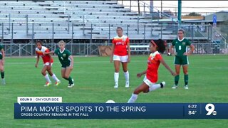 Pima moves fall sports to the spring
