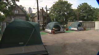 A safe space outdoors for the homeless