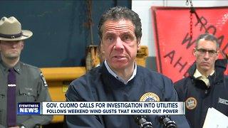 Governor Cuomo calls for investigation into utilities