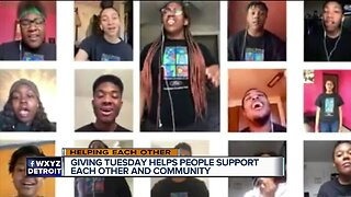 Giving Tuesday helps people support each other and community