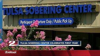 Tulsa Sobering Center celebrates first year
