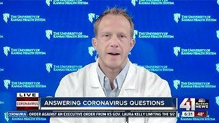 Answering coronavirus questions