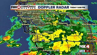 Showers and storms Monday afternoon in Southwest Florida