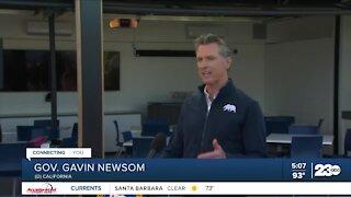 Governor Newsom talks homelessness
