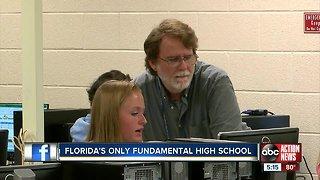 "Florida's only ""fundamental"" high school flourishing in Pinellas County"