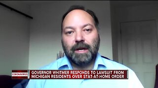 Four Michigan residents sue Gov. Whitmer over stay-at-home order