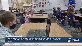 Governor DeSantis wants to make Florida a Civics leader