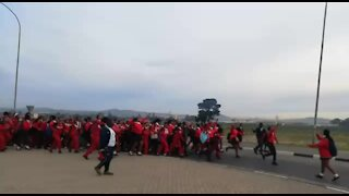 South Africa - Cape Town - Bloekombos Secondary school day 2 Protest (Video) (BxJ)
