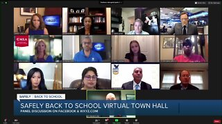 Safely Back to School virtual town hall
