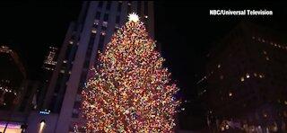 Rockefeller Center Tree turns on - the Christmas season is here