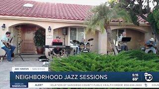 Neighborhood jazz sessions