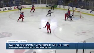 USA Hockey NTDP's Jake Sanderson talks NHL Draft future with Brad Galli