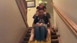 Familie genskaber Disney World i deres hjem