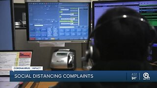 Who to call about social distancing complaints