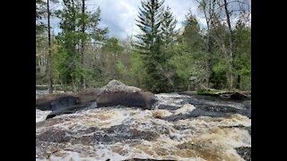 Beautiful, amazing, powerful water rapids