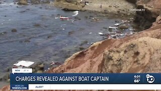 Charges revealed against accused boat captain in Point Loma crash