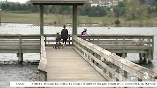 Warmer weather draws more people to local parks