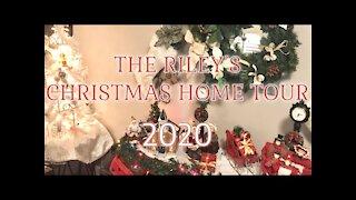 The Riley's Christmas Home Tour 2020