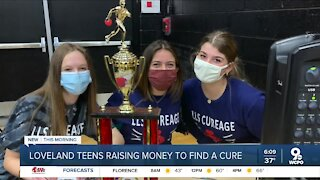 Three teens raising thousands of dollars for cancer research