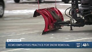 Training begins to improve KCMO snow removal