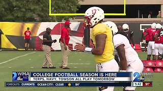 College football season is here