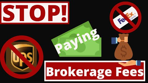 Episode 33- Don't Pay Brokerage Fees