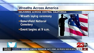 Plans for wreath deliveries in Central California