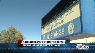 Arrest made in Sahuarita school threat investigation