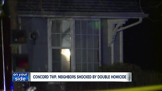Neighbors respond after double-homicide in Concord Township