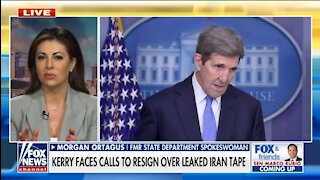 Morgan Ortagus: Kerry Seems Beholden to Iran, Working Against Israel
