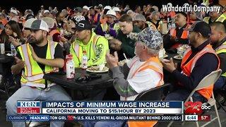 Kern Back In Business: Impact of minimum wage increase