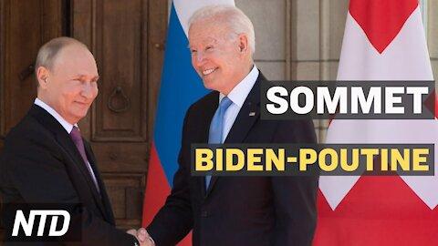 Le Sommet Biden-Poutine à Genève; Les équipes européennes de football divisées par BLM