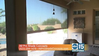 All Pro Shade Concepts: Get beautiful roll down shades and awnings