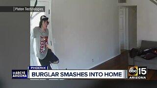 Phoenix home burglary caught on camera