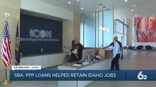 #TheReboundIdaho -- How the PPP has helped Idaho retain its local jobs, so far