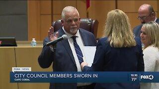 Cape Coral City Council sworn in