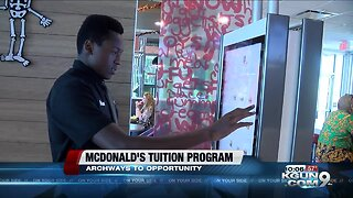 Tucson man receives tuition assistance through McDonald's Archways to Opportunity program