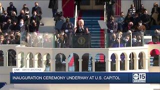 Watch again: President Joe Biden delivers inaugural address