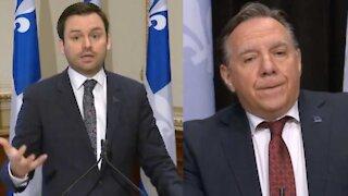 François Legault revient sur les propos du chef du PQ et dit que c'est des mensonges
